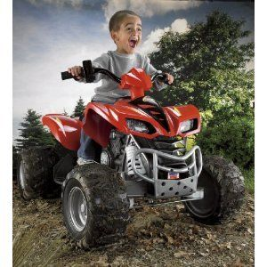 Fisher Price Power Wheels Kawasaki KFX Ninja 4 Wheeler