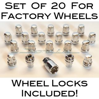 Acura Honda Wheel Locks Lug Nuts Factory Wheels