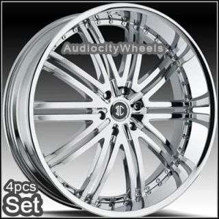 26inch Wheels Rims Chevy Escalade Ford RAM H3 Armada