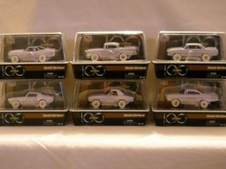 Complete Set of 6 AW 100 Years of Chevrolet Iwheels Slot Cars Release