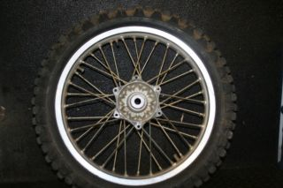 2005 Husaberg FC450 Rear Wheel Rim Hub Spokes Tire