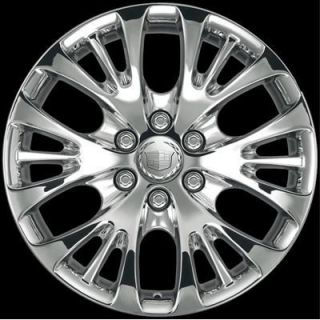 GM CK366 6 Spoke Split 22Chrome Wheel Tire Package Genuine GM Truck