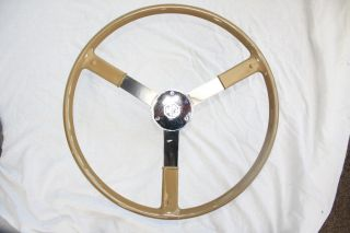 MG TC Bluemels Type Steering Wheel