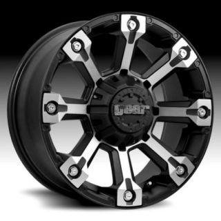 20 Wheels Rims Gear Alloy Backcountry Black with 315 60 20 Toyo Open