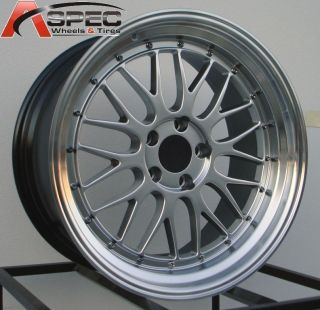 19 STAGGERED LM STYLE RIM WHEEL FIT NISSAN 300ZX 240SX LEXUS IS350