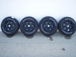 Ford Explorer Wheels Set of 4 Painted Black with Tires 2006 2007 2008