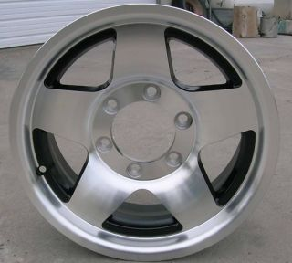 15 Aluminum Star Trailer Wheels Rims 5 Spoke 6 Lug on 5 5 RV Camper