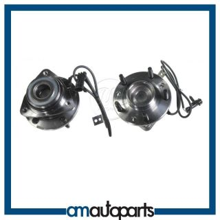 Chevy Pickup Truck w ABS 4x4 4WD Front Wheel Hub Bearing Assembly Pair