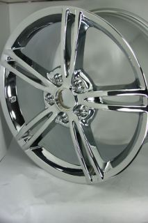 Chrome Chevrolet Corvette Wheel Rim 5343 19167764