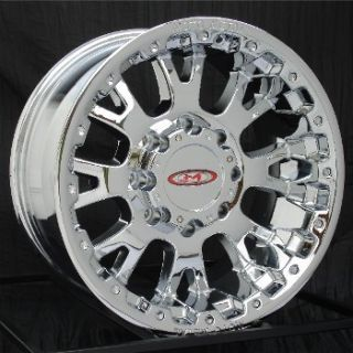 17 inch Chrome Wheels Rims Ford F250 F350 Truck 8 Lug