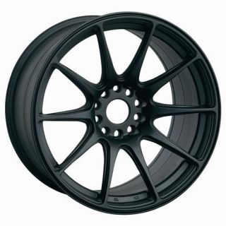 17 XXR 527 BLACK RIMS WHEELS 17x8.25 +35 5x100 CELICA COROLLA CAMRY TC