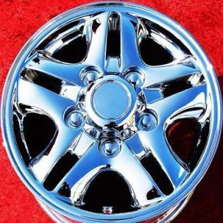 NEW 16 LEXUS LX470 OEM CHROME WHEELS RIMS LAND CRUISER EXCHANGE 74145
