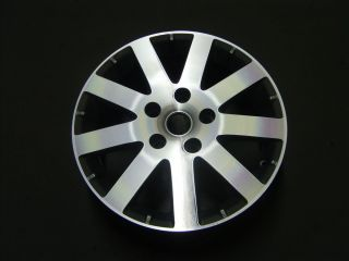 2008 2011 Chrysler Town Country Wheel 17x6 5 9 Spoke Machined Silver