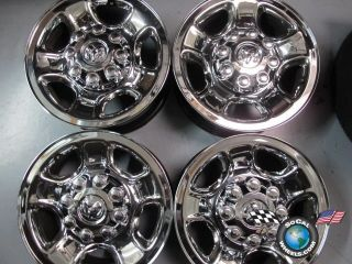 03 10 Dodge 2500 3500 Factory 17 Wheels Rims Chrome Clad 2186