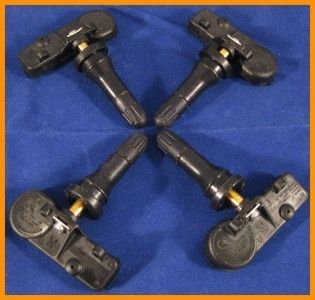 Chrysler Dodge TPMS Tire Pressure Sensors Set of 4