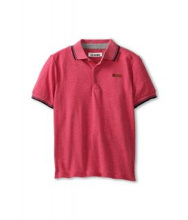 Ben Sherman Kids Andrew Polo Boys Short Sleeve Knit (Red)