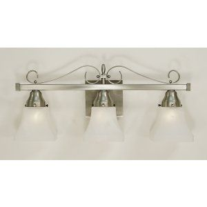 Framburg Lighting FRA 2893 BN Taylor Three Light Bath Fixture from the Taylor Co