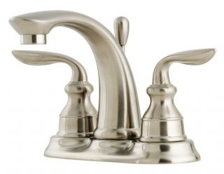 Price Pfister F 048 CB0K Avalon 4 In. 2 Handle High Arc Bathroom Faucet