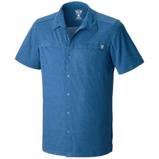 Mountain Hardwear Frequentor Shirt   Short Sleeve (For Men)   IMPULSE BLUE (L )