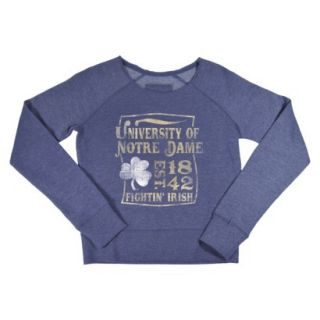 NCAA Kids Notre Dame Fleece   Grey (S)