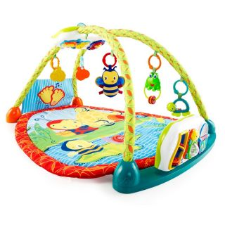 Bright Starts 2 in 1 ConvertMe Activity Table and Gym Multicolor   9217