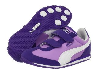 Puma Kids Whirlwind V Kids Boys Shoes (Purple)