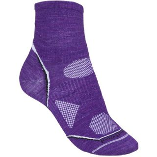 SmartWool PhD Multisport Mini Socks   Merino Wool  Lightweight (For Women)   TANGERINE (S )