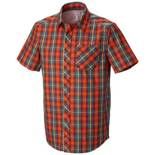 Mountain Hardwear Hibbard Shirt   Short Sleeve (For Men)   ZINFANDEL (L )