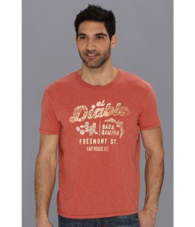 Lucky Brand El Diablo Mens T Shirt (Orange)