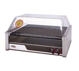 APW Wyott Hot Dog Grill, Non Stick Rollers, 23.75 x 29.56 in, 120 V