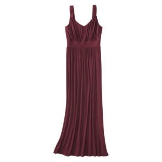 Merona Petites Sleeveless Maxi Dress   Berry XXLP