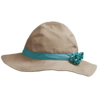 Mountain Hardwear Sun Floppy Canvas Hat   UPF 50 (For Women)   SHARK (LARGE )
