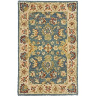 Safavieh Antiquities Blue/Beige Rug AT15A Rug Size Runner 23 x 4