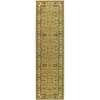 Lyndhurst Collection Majestic Beige/ Ivory Runner (23 X 16)