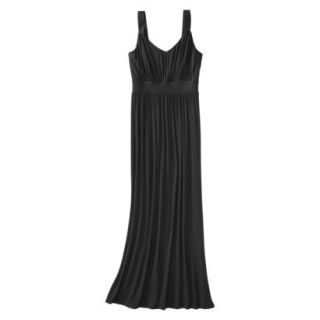 Merona Petites Sleeveless Maxi Dress   Black LP