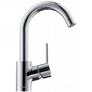 Hansgrohe 32070001 Talis S Talis S Single Hole Faucet with High Swing 360° Swive
