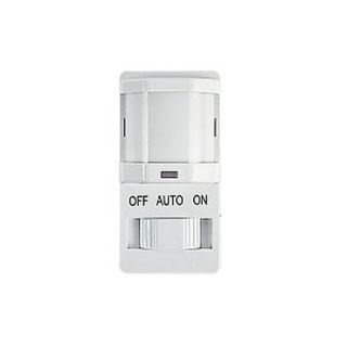 Intermatic IOSDSIMFWH Motion Sensor, PIR Magnetic Occupancy Sensor Switch White