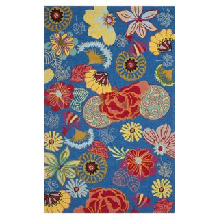 Safavieh Four Seasons Blue / Red Rug FRS470A Rug Size 8 x 10