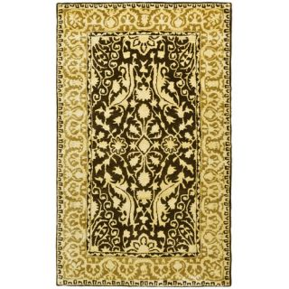 Safavieh Silk Road Brown/Ivory Rug SKR213F Rug Size 3 x 5