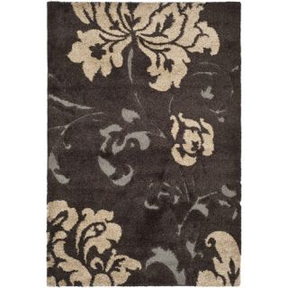 Safavieh Florida Shag Dark Brown Rug SG458 2879