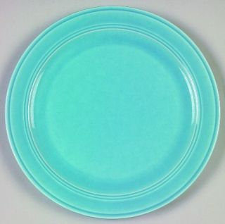 Metlox   Poppytrail   Vernon Early California Light Blue Luncheon Plate, Fine Ch