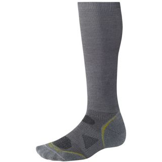 SmartWool 2013 PhD Graduated Compression Socks   Lightweight  Merino Wool (For Men and Women)   ARCTIC BLUE (XL )