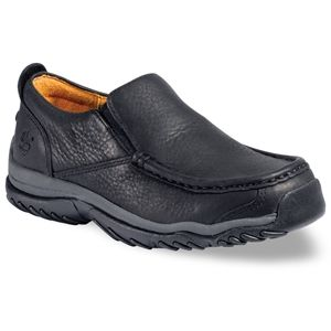 Timberland Kids Carlsbad Youth Slip On Black Smooth Shoes   46723