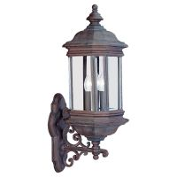 Sea Gull Lighting SEA 8839 08 Hill Gate Three Light Hill Gate Outdoor Wall Lante