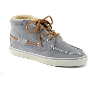 Sperry Top Sider Womens Betty Chukka Boot Grey Suede Boots   9837469