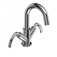 Riobel CR01L C Caesar Two Handle Single Hole Bathroom Faucet