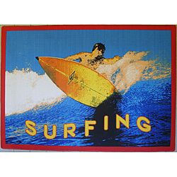 Surfing Area Rug (5 X 8)
