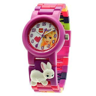 Lego Friends Girls Minifigure Watch Set, Purple, Girls
