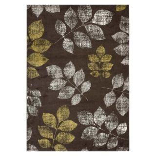 Safavieh Botanical Area Rug   Brown/Green (53x77)