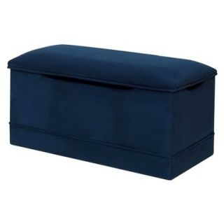 Deluxe Toy Box   Navy Blue